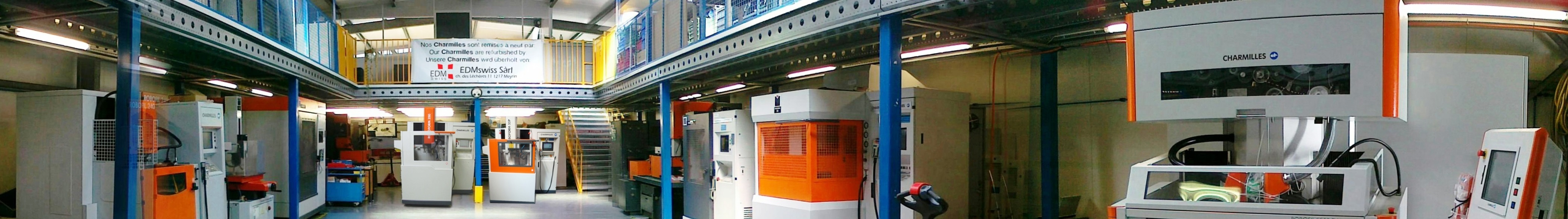 EDMswiss, The reference for used +GF+ AgieCharmilles EDM machines.